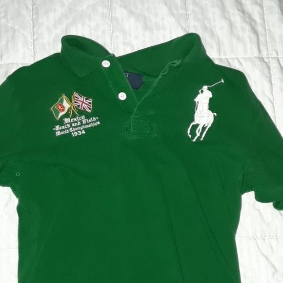 MEXICO Polo Shirt. M 5b1899106a0bb7ce4f5e10b4 63958daed9354